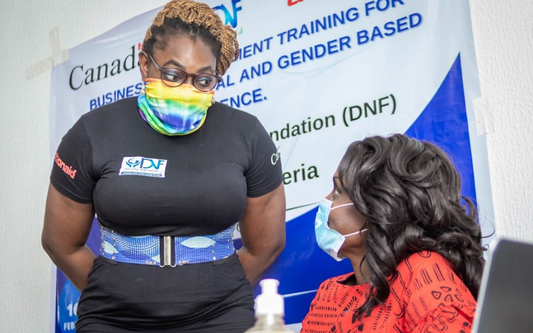 Business Empowerment Training for Survivors of SGBV
